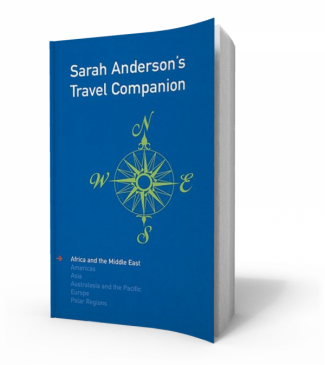 Sarah Anderson's Travel Companion
