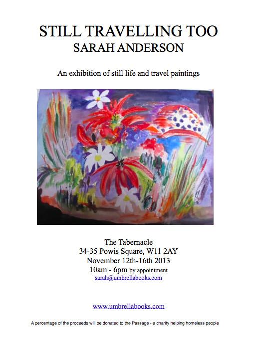 Sarah anderson exhibition